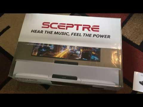 Sceptre SB80-PS SB 20 Inch Sound Bar Review!