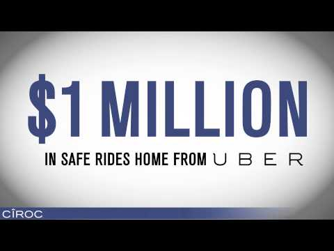 CÎROC & UBER TAXI GIVE FANS $1 MILLION REASONS TO CELEBRATE RESPONSIBLY ON NEW YEAR'S EVE