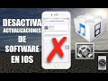 Elimina actualizaciones de software en iPhone iPad y iPod Touch