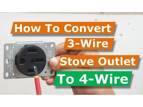 How To Convert 3 Wire Oven/Electric Range Electrical Outlet to 4 Wire