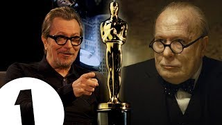"""I never moaned once!"" Gary Oldman on his Oscar winning performance as Winston Churchill."