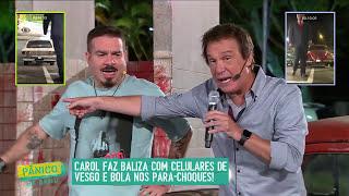 AO VIVO: BALIZA COM CELULAR NO PARA-CHOQUE 03/03