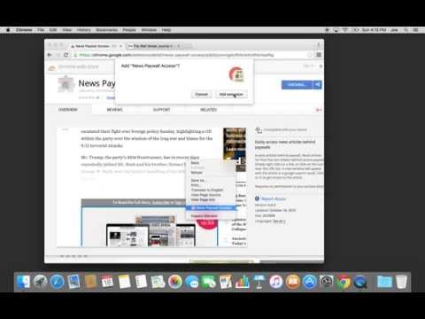 News Paywall Access for Chrome