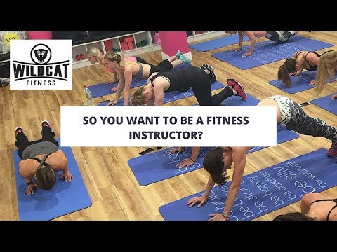 So You Want to be a Fitness Instructor?