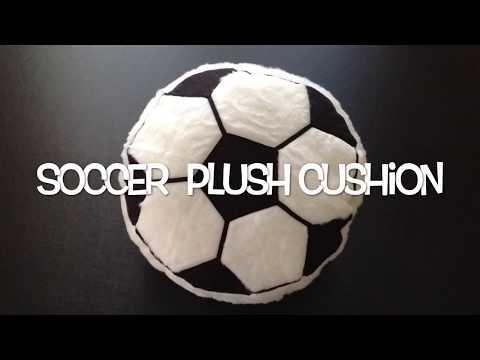 Soccer Plush Cushion