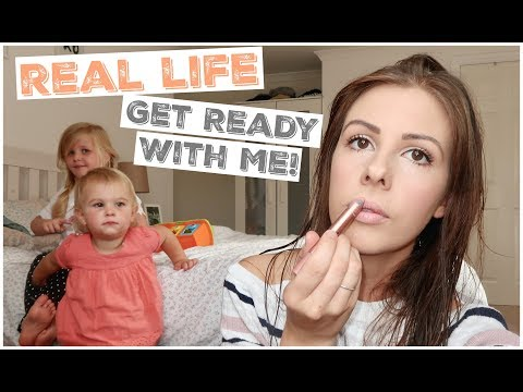 REAL LIFE GET READY WITH ME | MUMMY MORNING ROUTINE | KERRY CONWAY