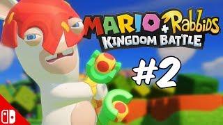 MARIO + RABBIDS KINGDOM BATTLE! - Part 2 | Nintendo Switch
