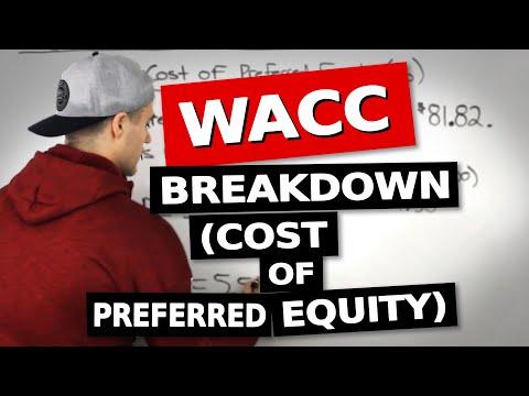 FIN 401 - WACC (Cost of Preferred Equity) - Ryerson University