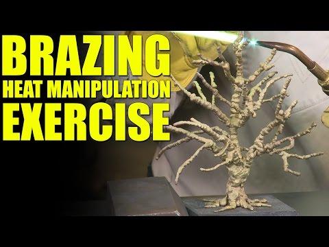 Oxy Fuel Brazing: Heat Manipulation Exercise