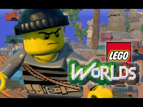 LEGO WORLDS  | Robbery, Canyon Biome, Vehicles, Candyland & More! (Update 1)
