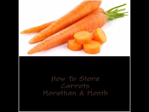 DIY Tip:How To Store Carrots For Two  Months||Storing of Carrots For Moredays In Refrigrator\Fridge