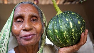 Cooking BAN, PAKAL, PUMPKIN Flower for Lunch Prepared by our Granny and my Mother in Village Style