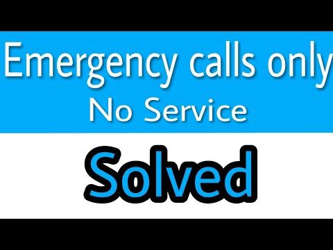 Emergency Calls Only error Solved :Hindi in just 1 minute