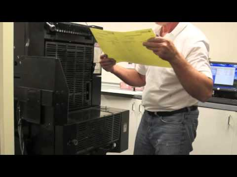 Printing Carbonless Forms - Making Receipt Booklets