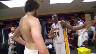Kobe And Gasol Show Their Teamwork