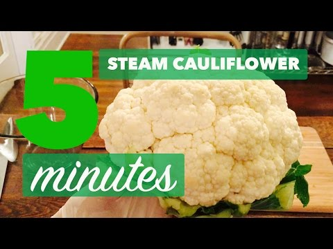 How to Steam Cauliflower without a Steamer | Easy, No Hassle in 5 minutes