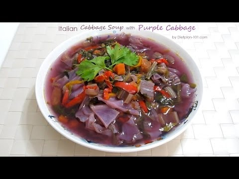 Italian Cabbage Soup Recipe (for Cabbage Soup Diet) | Dietplan-101.com