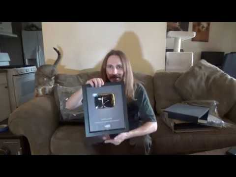 YouTube Silver Play Button - THANKS TO ALL MY SUBSCRIBERS!