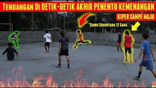 GILA💥 UNGGUL 12 GOAL Tapi Endingnya Kena EPIC COMEBACK ⚽️🔥 Futsal MATCH 4vs4 Anak Kampung TERPANAS!!