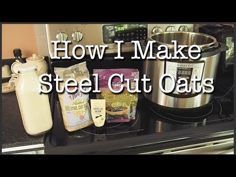 How to make steel cut oats | Instant Pot Recipe | Easy Pressure Cooker Recipe