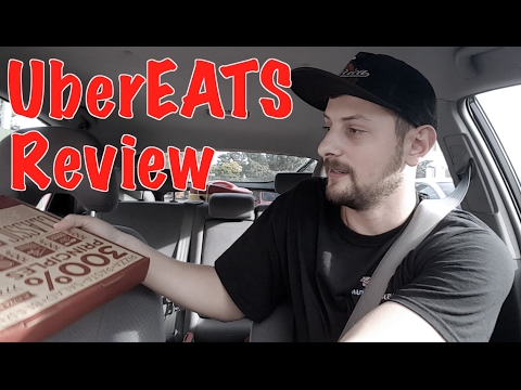 Driving for UberEATS for the First Time - Review
