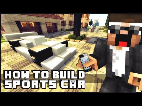 ► Minecraft : How to Make - Sports Car
