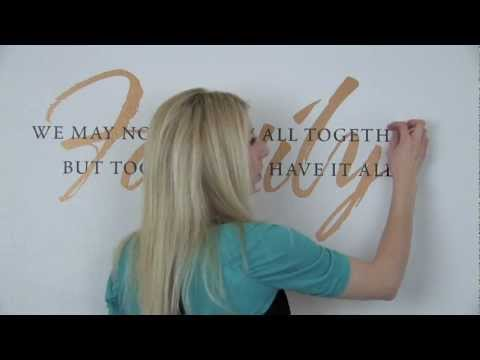 Wall Written Vinyl Wall Decals FAQ Series - Removing Your Statement