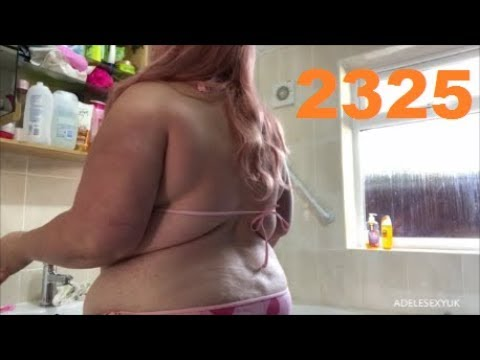 Xxx Mp4 ADELESEXYUK SHOWING HER HAIR ROUTINE IN THE SHOWER 3gp Sex