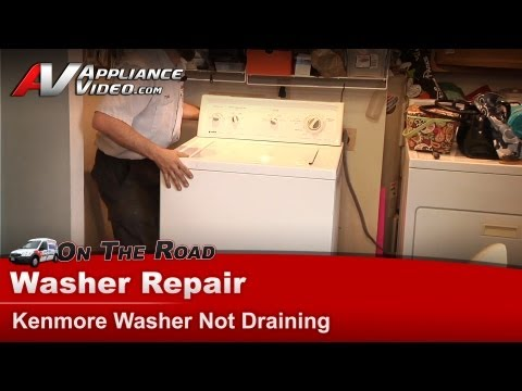 Kenmore Washer Repair - Not Draining - 1102483220
