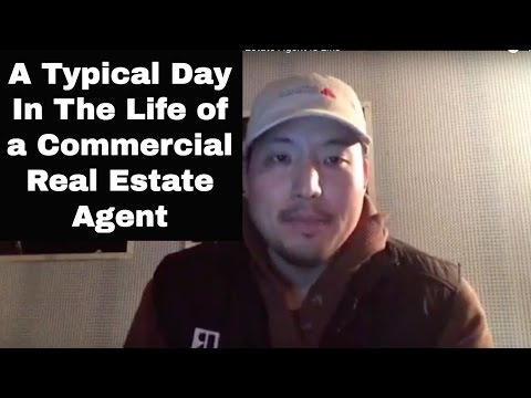 What a Typical Day In The Life of a Commercial Real Estate Agent Is Like