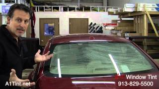 Window Tinting Diy How To Tint Auto Back Glass