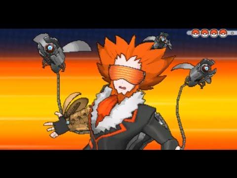 Pokemon X and Y - Team Flare Boss Final Battle