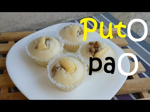 Puto Pao with Asado filling | how to make Puto Pao with Asado filling | Asado recipe | Soft Puto