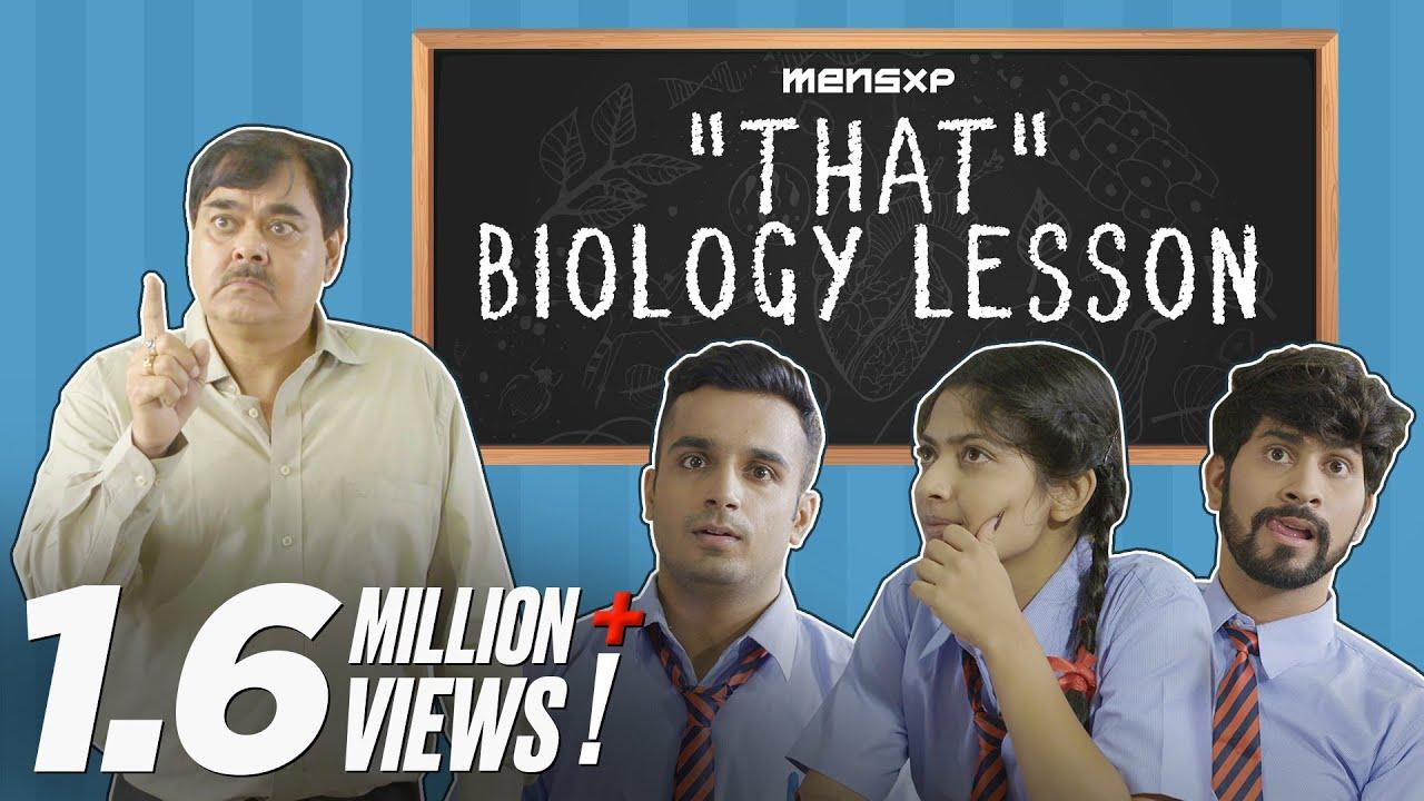 MensXP:  That 'Biology' Lesson - Teachers' Day Special | Teachers' Day Sketch