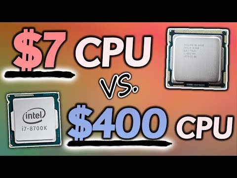Can a $7 CPU (x3430) HOLD UP Vs. The Mighty i7-8700K?