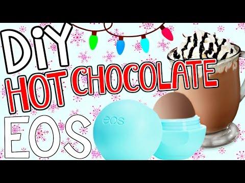 DIY Hot Chocolate EOS Lip Balm! | Make an Easy Holiday Lip Balm!