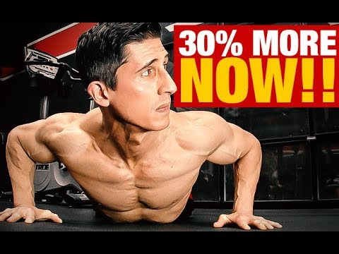 How to Increase Your Pushups by up to 30% (INSTANTLY!)