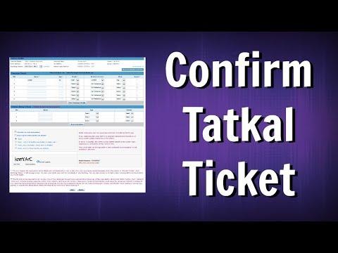 Book 100% Confirm Tatkal Ticket In Just 10 Seconds - Book Railway Ticket