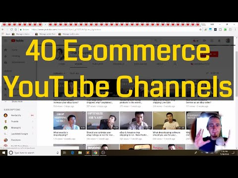 Check Out These 40 eBay and ECommerce YouTube Channels
