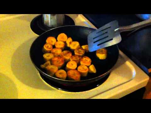How to make Platano con Salami