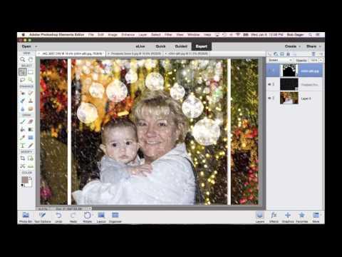 Adding Overlays with Photoshop Elements 13