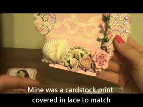 Romantic Standing Card/ Photo Frame Tutorial