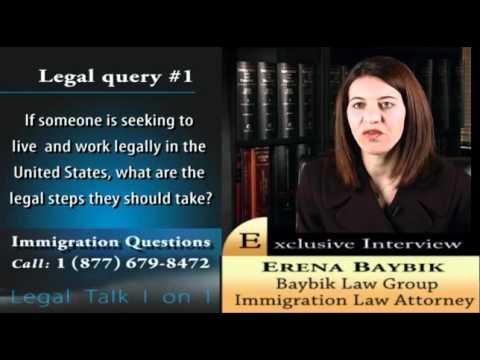 Florida immigration lawyer Erena Baybik discusses visas and immigration