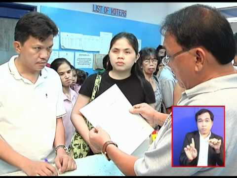 COMELEC Instructional Video on PWD Voter Registration