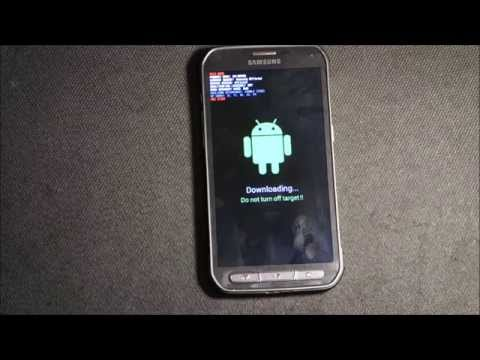 How to put Samsung Galaxy S5 Active Download Mode