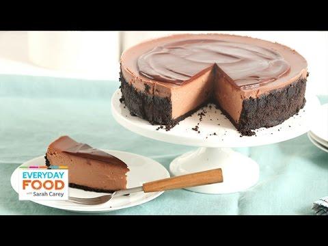 Triple Chocolate Cheesecake  - Everyday Food with Sarah Carey