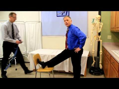 Correct Way to Stretch Hamstrings (Two Ways in One Minute Video)