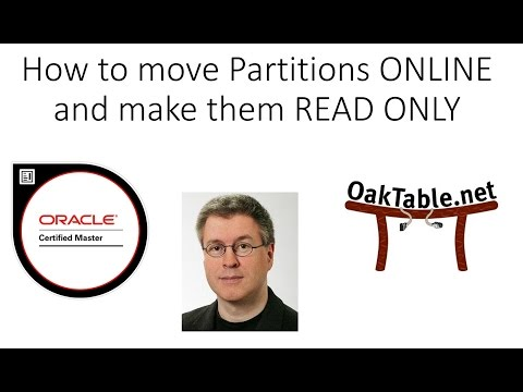 How to move Partitions ONLINE  and make them READ ONLY