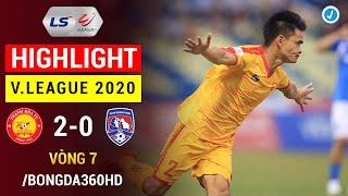 Highlight | Thanh Hóa 2-0 Than Quảng Ninh | Vòng 7 V.League 2020 | Thanh Hóa tiếp đà  thăng hoa