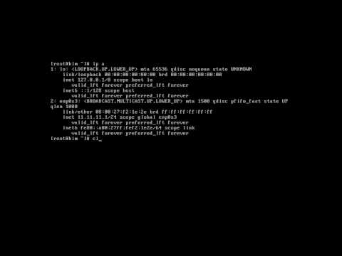 Setting IP with ip addr in CentOS 7